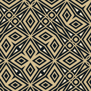 The Gold and the Black: Intricate Geometry