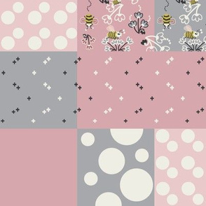 Bees and Polka Dots