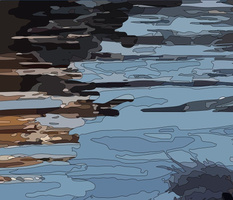 Aquatic Birds - Blue Heron-01
