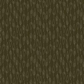 Leaf Linen in Night Owl