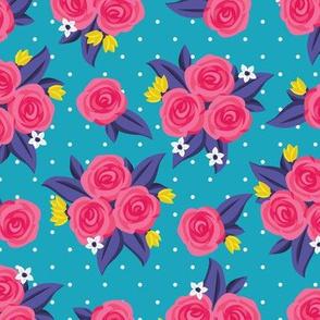 Polka Dot Roses