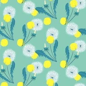 dandelion mint