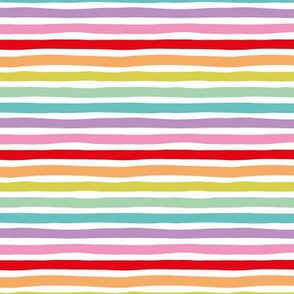 Rainbow horizontal beams abstract stripes trend colorful modern minimal design multi color SMALL