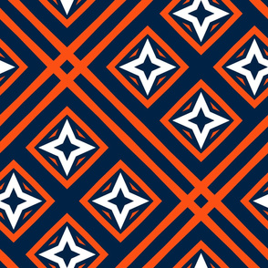 The Navy and the Orange: Stars by Four