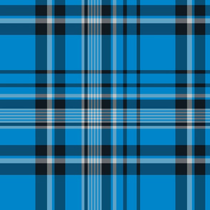 The Blue the Black and the Silver: Blended Plaid