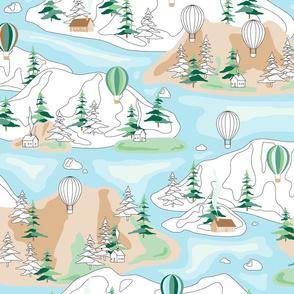 paint by number landscape