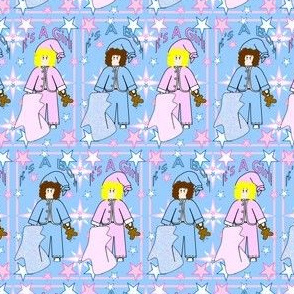 Baby Nicky It's A Girl! It's A Boy! Stars Fabric