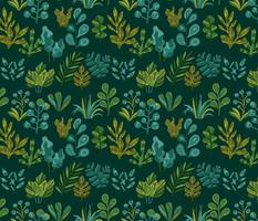 Plants. Botanical design.