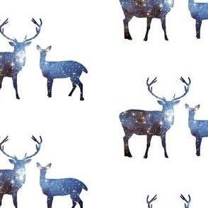 Starry Space Deer