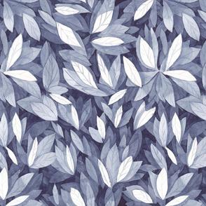 Indigo Leaves - Large