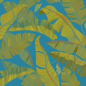 Banana Leaves turquoise