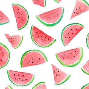 Watermelon Slices, redder
