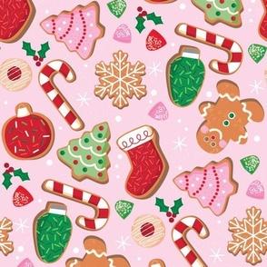 Christmas Cookies Pink