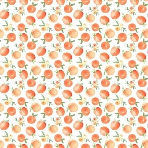 TINY Painted Peaches