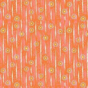 Daisy Lines on Pink and Orange FINAL 150dpi