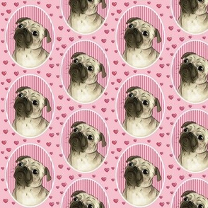 Love for pugs pink