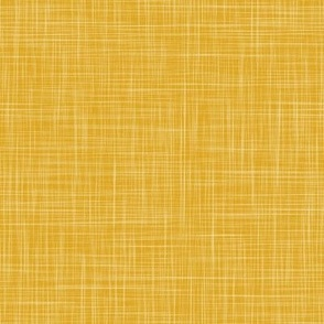 Linen Solid - Deep Yellow (Bees & Lemons)
