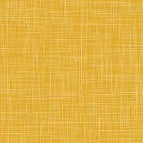 Linen Solid - Deep Yellow (Bees & Lemons)