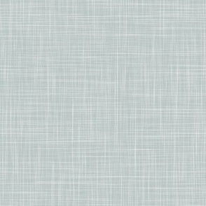 Linen Solid - Dusty Aqua (Bees & Lemons)