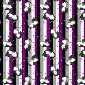 Rats & peas -asexual pride