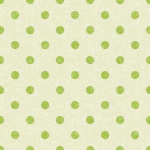 fuzzy polka dots