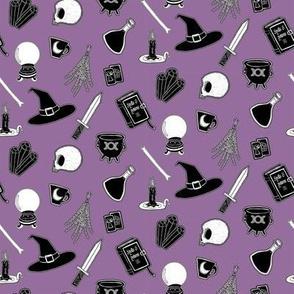 Witchcraft Supplies - purple