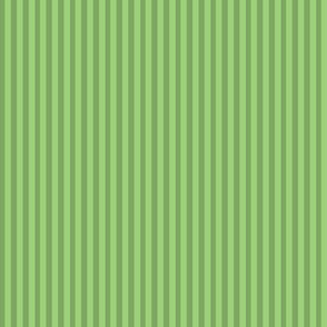 Stripes for pugs -green