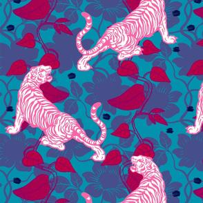 Jungle Tiger Fuschia BIG