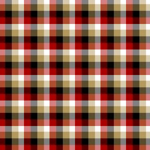 The Red and the Gold_Small Plaid