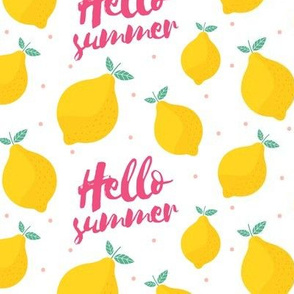 Hello Summer Lemons