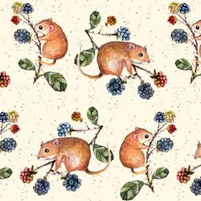 mice print  Little size