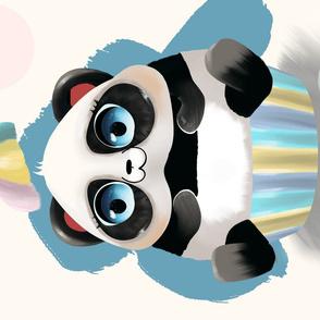 Cupcake panda Special Edition TeaTowel by kreativkollektiv