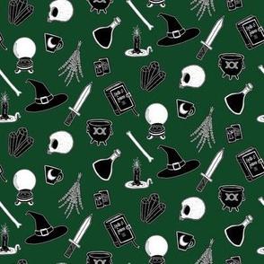 Witchcraft Supplies - Green