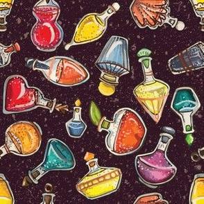 Potions Class on Maroon by ArtfulFreddy