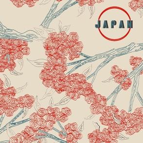 Visit Japan Retro Postcard