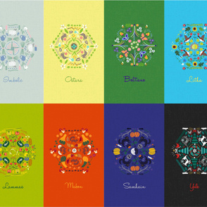 Wheel of the Year Banners