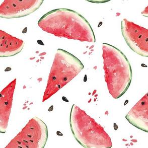 "10""  Watermelon fabric, melon fabric, summer fabric"