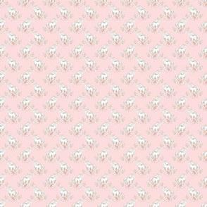 "Micro 1/2"" Pink Unicorn"
