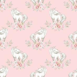 """2"""" Unicorn on Petal Pink"""