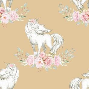 "4"" Unicorn on Wheat"