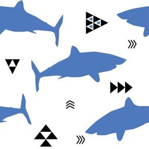 blue shark attack week