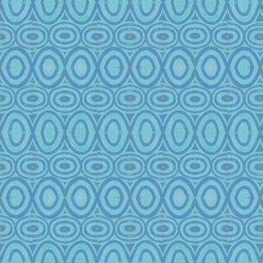 circle block repeat cool blues