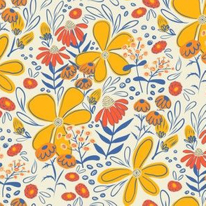 May Flowers, With Yellow