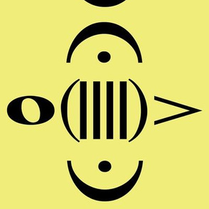Music Bee in Yellow Test Swatch
