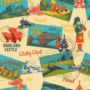 Explore Scenic Scotland through Heritage Railways- Large Scale