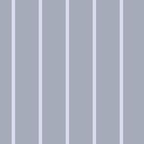 pale blue pinstripes on slate blue