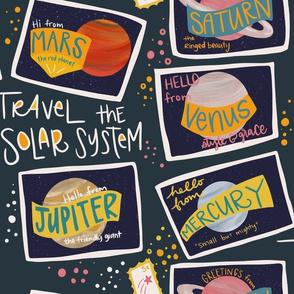 travel the solar system