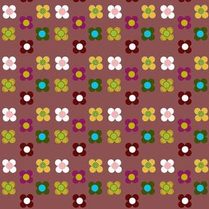 Flowers mat by Kaorina