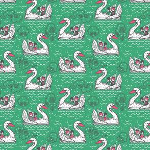 SWAN BOATS Emerald