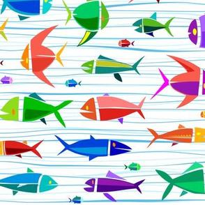 Common Fish 18in big wavy